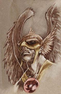 Hawkman - Joe Kubert by ~dichiara on deviantART