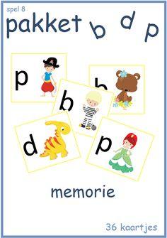 B, d en p pakket - Digibord Onderbouw