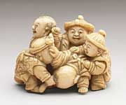 Group of Five Chinese Boys - Kagetoshi early to mid-19th century