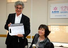Foto en Reconocimiento de la AMIA a Hugo Sigman - Google Fotos