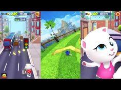 Talking Tom Gold Run AND Sonic Dash Gameplay - Angela Gight Boss vs Talk... Sonic Dash, Boss, Family Guy, Watch, Youtube, Clocks, Wrist Watches, Youtubers