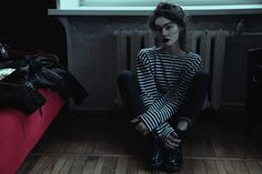 Get this look: http://lb.nu/look/7359258  More looks by Violet Ell: http://lb.nu/user/79093-Violet-E  Items in this look:  Dr. Martens Boots, Shirt   #classic #grunge #vintage