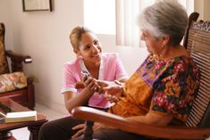 AS THE FOR-PROFIT WORLD MOVES INTO AN ELDER CARE PROGRAM, SOME WORRY.