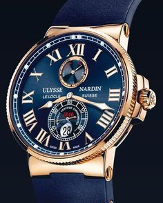 Ulysse Nardin - Chubster's choice Men's Watches - Watches for Men ! Rolex Datejust, Cool Watches, Rolex Watches, Ulysse Nardin, Le Locle, Skeleton Watches, Swiss Army Watches, Luxury Watches For Men, Beautiful Watches