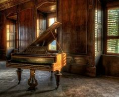 . Piano, Music Instruments, Abandoned Places, Germany, Musical Instruments, Pianos