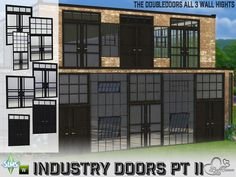Your Sim want to live in an authentic factory building? Found in TSR Category 'Sims 4 Downloads'