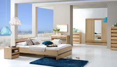 Symetria i nowoczesna prostota –sypialnia Volare firmy Verso.