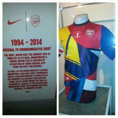 This will be making it's way into the Arsenal Museum pretty soon