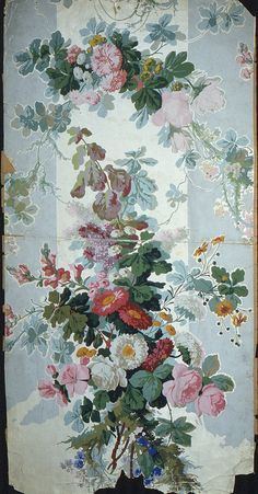 27 Ideas Flowers Print Wallpaper Vintage For 2019 Old Wallpaper, Print Wallpaper, Fabric Wallpaper, Vintage Flowers, Vintage Floral, Flower Prints, Flower Art, Motifs Textiles, Motif Floral