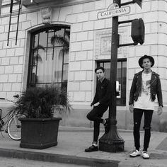Jesse Rutherford & Zach Abels of The Neighbourhood #thenbhd #abels #rutherford