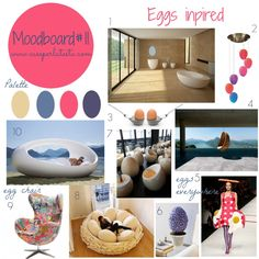 #‎Easter‬ without Eggs? Noo! Today my moodboard is eggs insipred! Join me with your moodboard, each Wednesday till next Monday! #mymoodboardonwednesday #linkyparty