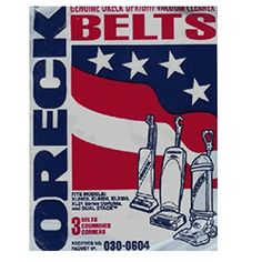 #vacuums #Oreck Upright XL Series Vacuum Cleaner Flat Belts 3 Pk { 3 Belts Only } Genuine Part # 75024-01, 7502401. Fits Models U2000R, U2000E, U2000H, U2000HH, ...