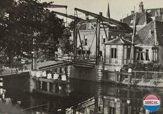 Alphen aan den Rijn: De Alphense brug omstreeks 1930