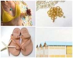 bikini top: www.etsy.com/shop/polixeni19 sandals: www.etsy.com/shop/GreekSandalShop earrings: www.etsy.com/shop/TheScarletLace photo: www.etsy.com/shop/happeemonkee