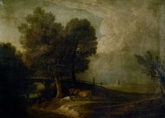 Figures with Cattle in a Landscape - Thomas Gainsborough