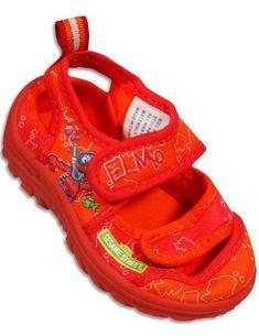 Sesame Street - Toddler Boys Elmo Water Shoe, Orange 28894 ELMO. $14.90