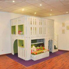 #Kids #bedroom ! #Excellente #idée pou la #chambres des #enfants !