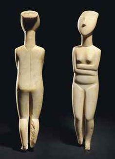 cycladic art - Google Search