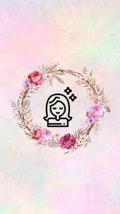 Instagram Logo, Story Instagram, Instagram Feed, Iphone Wallpaper Lights, Dark Wallpaper, Dreamcatcher Wallpaper, History Icon, Pink Wreath, Insta Icon