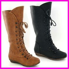 WHOLESALE Girls CUTIE Fashion High Leg Lace Up Boots Sizes 11-3 x14prs H4075 | eBay