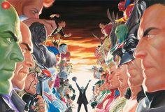 DC Comics Heroes / Villains Faceoff