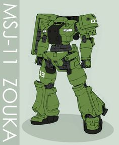 MSJ-11 Zouka by ~Tekka-Croe on deviantART