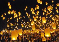 Firework Festival Chiangmai Thailand Stock Photo (Edit Now) 55635664 Big Fireworks, Fireworks Festival, Festival Lights, Lantern Festival, Festival Party, Chinese Paper Lanterns, Sky Lanterns, Festivals Around The World, Wedding Entertainment