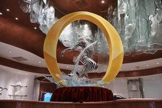 "Bellagio Patisserie Debuts New Chocolate Sculpture Starring ""O"" by Cirque du Soleil Las Vegas Shopping, Chocolate Sculptures, Stuff To Do, Ceiling Lights, Cirque Du Soleil, Chocolate Art, Outdoor Ceiling Lights, Ceiling Fixtures, Ceiling Lighting"