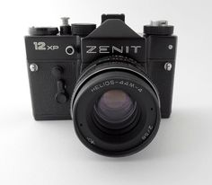 Vintage Zenit 12 XP Photo Camera Retro Old by AlexVintageArea