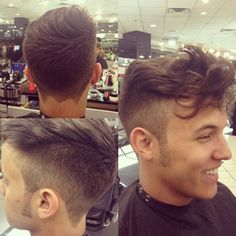 Great Mens style haircut!