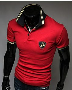 7bce85247a9 osell wholesale dropship Embroid Cotton Blends Casual Slim Short Sleeve Men  Polo Shirt  7.83
