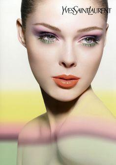 Coco Rocha Yves Saint Laurent Ad Campaign #bemakeupartist