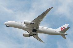 Japan Airlines Boeing 787-8 Dreamliner (JA826J ) at KSAN | by SBGrad on Flickr