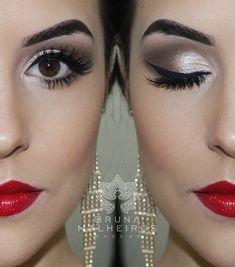 Bruna Malheiros Makeup » Blog Archive » Maquiagem Glamour