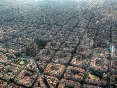 Picture of the Day 7: Barcelona seen from above