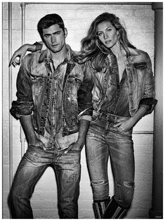 After fronting Colcci's spring-summer 2015 advertising campaign, top American model Sean O'Pry reunites with the Brazilian fashion brand for fall. Reconnecting with supermodel Gisele Bundchen, Sean is photographed by Giampaolo Sgura, posing in a swank New York City loft. Sean models classic denim separates as well as modern bomber jackets for the advertisement. Related