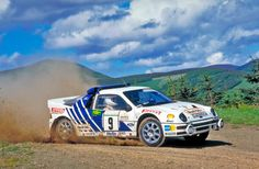 M. Lovell - Ford RS200 (Lloyds Bowmaker Scottish Rally 86)