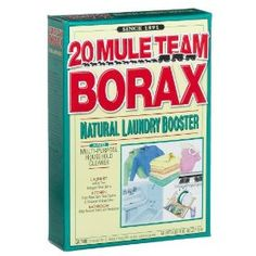 Twenty Mule Team Borax, Natural Laundry Booster & Multi-Purpose Household Cleaner, Boosts You Borax Laundry, Homemade Laundry Detergent, Dishwasher Detergent, Laundry Tips, Laundry Room, Dish Detergent, Borax For Ants, Home Design, Insecticide