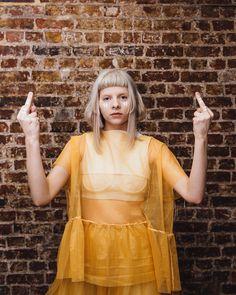 Aurora Aksnes, Extended Play, Mtv, Youtubers, Art Design, Aurora Borealis, Foto E Video, Cool Girl, Most Beautiful