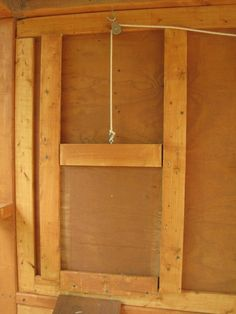coop door & chicken coop ideas