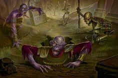 Zombies for Paizo by MichaelJaecks