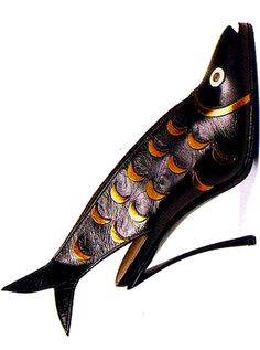 Andre' Perugia. I dont know about these. Really fish on your feet?