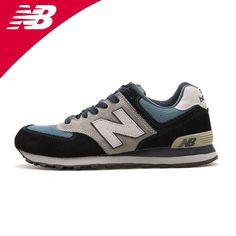 2013 M574JNS zapatillas de deporte auténticas palabras modelos masculinos NB ejecutan retro