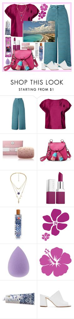 """""""Culottes"""" by natalyapril1976 on Polyvore featuring Fendi, Raoul, Candie's, Clinique, Herbal Essences, Lollia and Maryam Nassir Zadeh"""