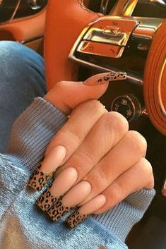 In search for some nail designs and some ideas for your nails? Listed here is our listing of must-try coffin acrylic nails for modern women. Summer Acrylic Nails, Best Acrylic Nails, Acrylic Nail Designs, Summer Nails, Long Nail Designs, Cheetah Nail Designs, French Manicure Acrylic Nails, Square Acrylic Nails, Pastel Nails