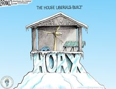 Global Warming Frozen | Conservative ByteConservative Byte. Another Scared Cow barbequed.