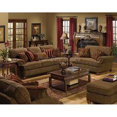 Wohnzimmer Möbel Set Braun