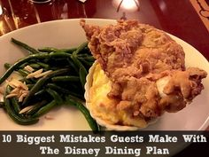 10 Biggest Mistakes Guests Make With The Disney Dining Plan - Don't make these mistakes!