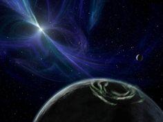 Pulsar Planet via Blue fire/NASA/JPL-Caltech