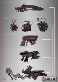 Weapon concept for Celistic by ~ancientfear on deviantART